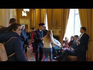 #necro_tv: Задержания на дне открытых дверей в МГУ