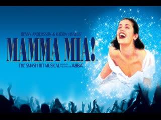 Mama mia Лондон West-End 2004 год (Лора Мишель Келли в роли Софи)
