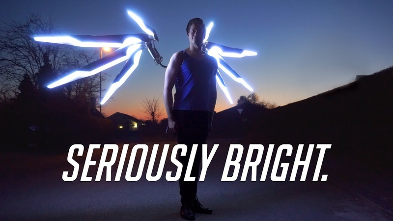 Making the BRIGHTEST Articulated Cosplay Wings