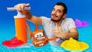 Un taller para los barcos Juguetes Barbie y los Piratas Vídeos para niños