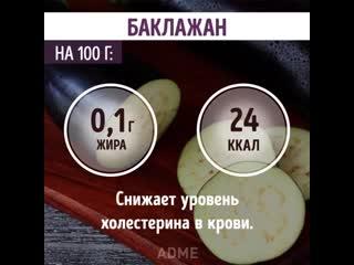 10 продуктов, от которых не полнеют