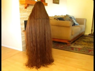 Super long hair from January to December 2019