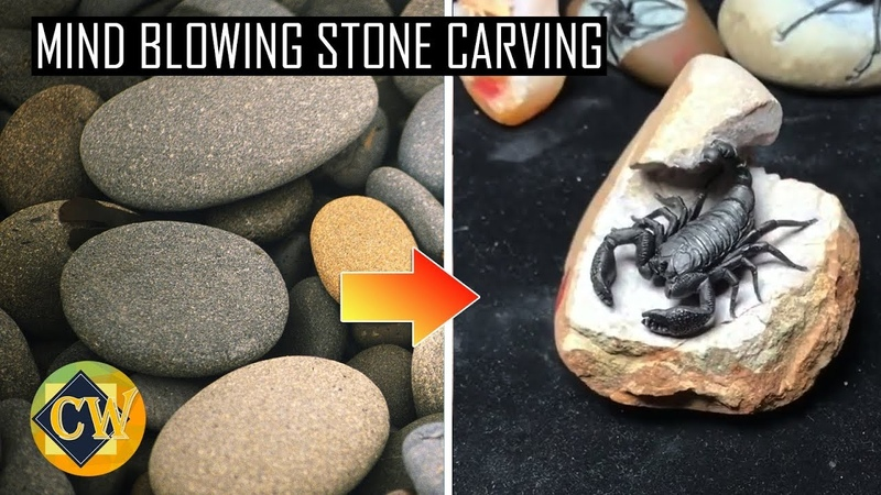 AMAZING STONE CARVING ART - MIND BLOWING ROCK SCULPTURES