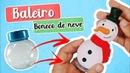 DIY Boneco de neve com baleiro Biscuit Boss Embalagens Pierre Marinho