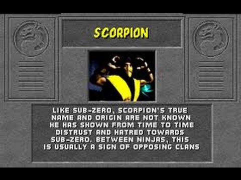 Mortal Kombat Arcade Scorpion Gameplay on Very Hard no Continues
