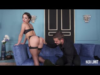 [HerLimit] Anastasia Brokelyn - Curvy brunette gets her tight ass destroyed Hardcore, Anal, Blowjob, Facial, Cumshot
