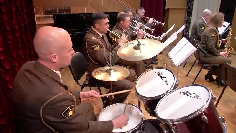 Военный оркестр отряда специального назначения Меркурий служить искусству и России