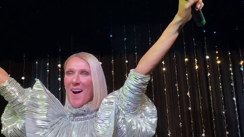 """Céline Dion, """"Flying On My Own"""" Live at Lips NYC for the album release party for """"Courage."""""""