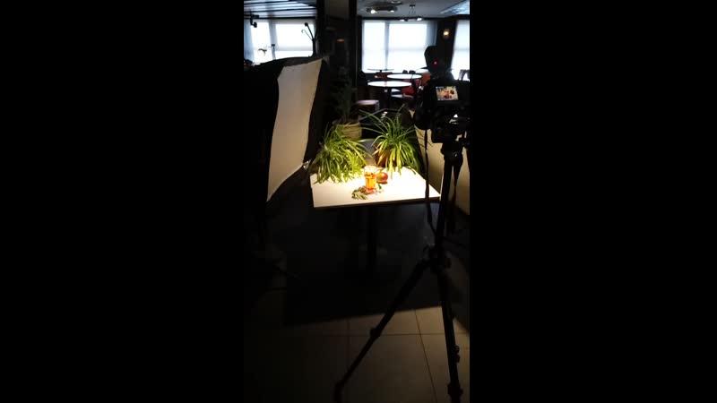 Съёмка коктейлей для ильпатио