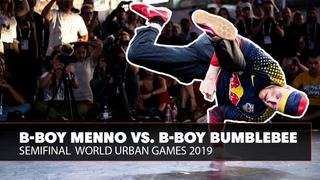 B-Boy Menno vs. B-Boy Bumblebee | World Urban Games 2019 Semifinal