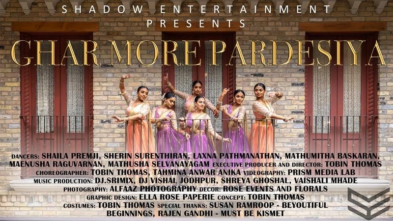 Ghar More Pardesiya - Kalank | Alia Madhuri | Shreya Ghoshal | Vaishali Mhade | Choreography