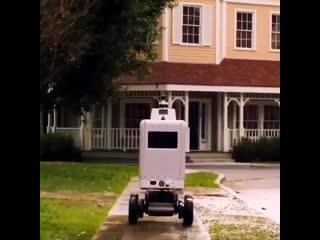 Fedex начнет тестировать робота-почтальона