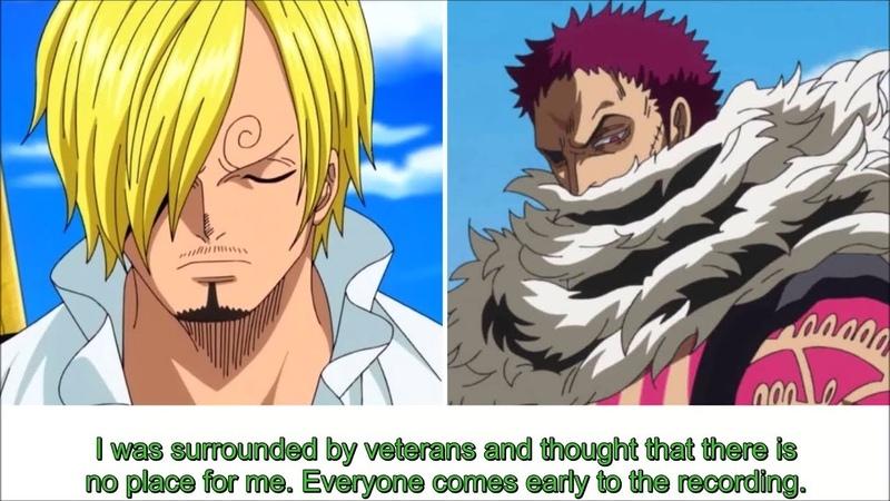 [Eng Sub] Sugita Tomokazu about the One Piece recording