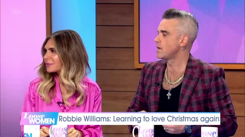 Robbie Williams and Ayda Field Describe How They Both Knew They Were the One _ L