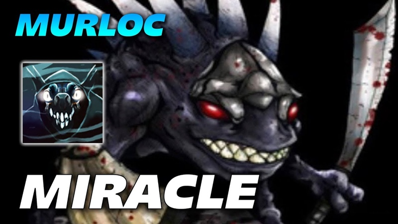 Miracle MURLOC SLARK - Dota 2 Pro Gameplay
