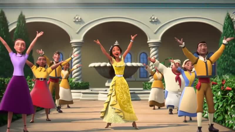 Happy To Be Alive l Full Song l Magic Within l Elena of Avalor