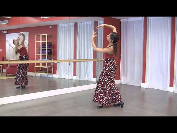 StepFlix Flamenco technique, lesson 14: vuelta quebrada turn