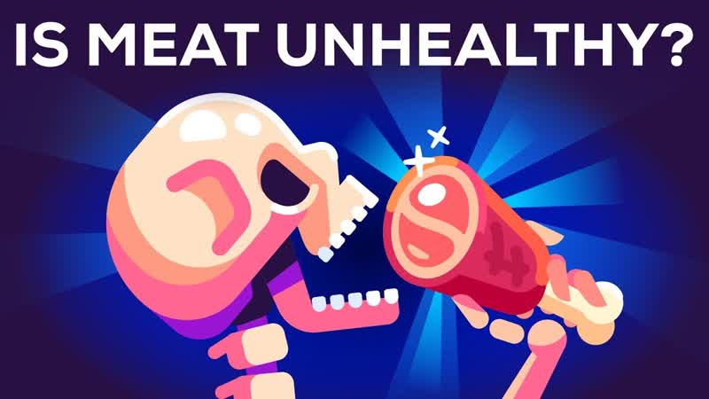 Is Meat Bad for You? Is Meat Unhealthy?   Kurzgesagt – In a Nutshell   Rus/Eng sub.