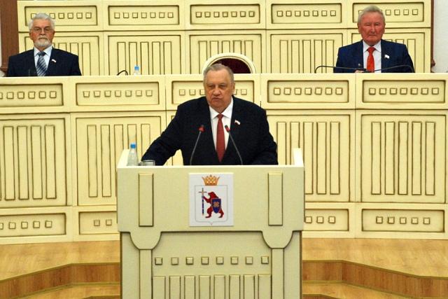 Юрий Минаков стал первым в истории Марий Эл почётным председателем Госсобрания республики