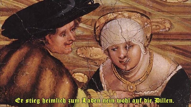 Ludwig Senfl Es hett ein Biedermann ein Weib
