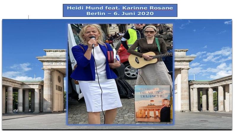 Heidi Mund feat Karrine Rosane Berlin 2020 06 06