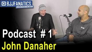 BJJ  Podcast 1 - John Danaher and History Of The Triangle Choke