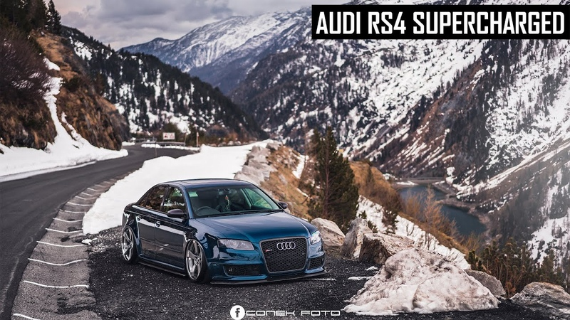 Audi RS4 Supercharged Charlie