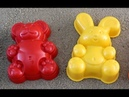 Learn Colors Sand Molds funny animals bear