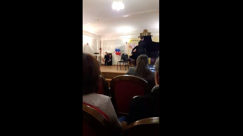отчетный концерт музучилища