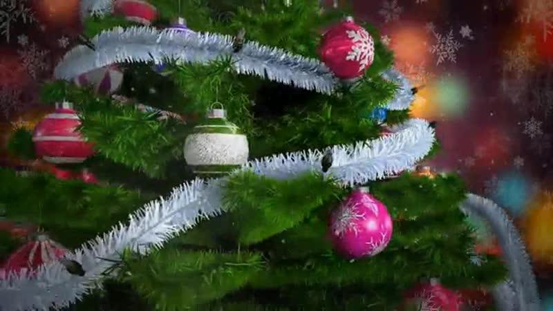 Прощание с новогодней елочкой в МБДОУ ДС ОВ №8 г Усинска