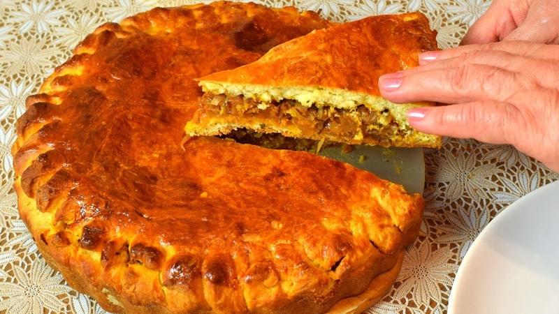 Пирог Капустный, очень вкусный :) Мамины рецепты