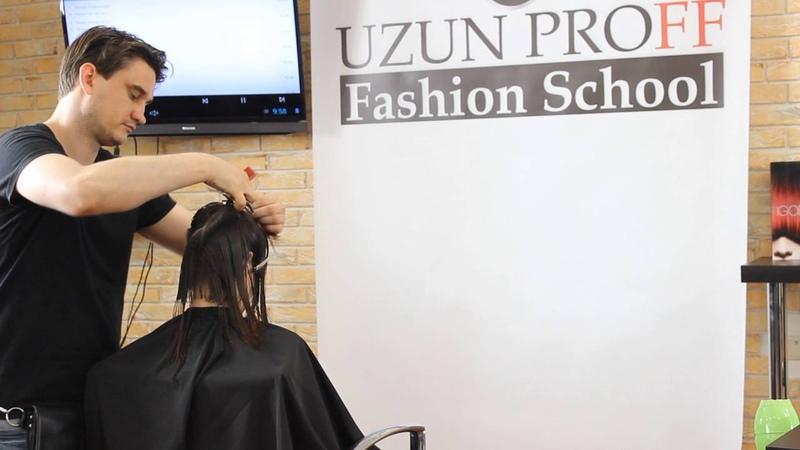 Градуированное КАРЕ Обучение для парикмахеров от Узун Виталия Одесса