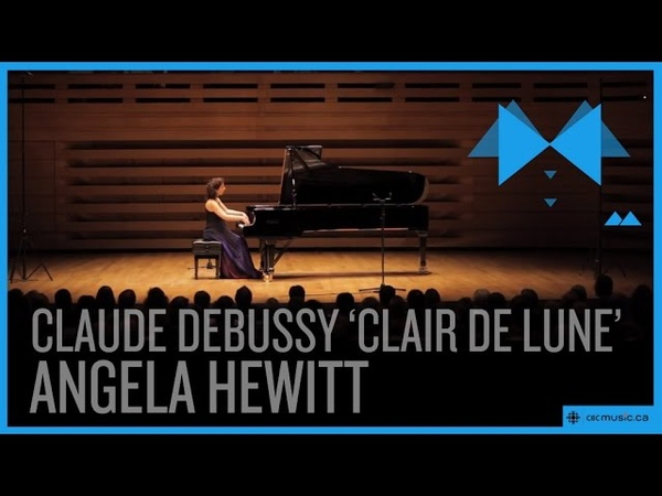 Claude Debussy Clair de lune by Angela Hewitt