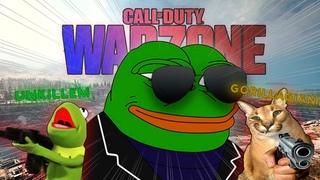 Сафари на троих в COD of Duty WARZONE