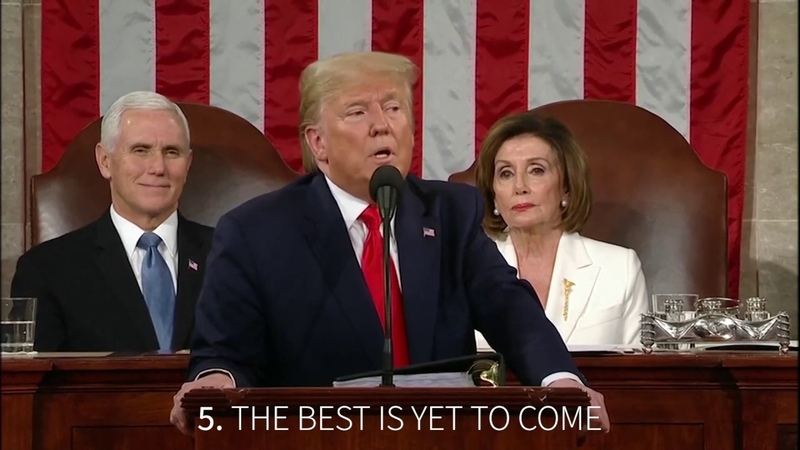 Top 5 Moments 2020 State of the Union