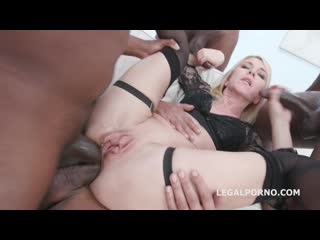 Blackened With Sindy Rose 4 BWC and 4 BBC Balls Deep Anal, DAP, TP, Buttrose, Swallow, Monster Squirt, Creampie GIO1320