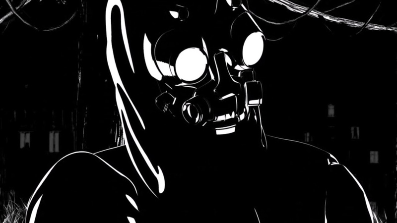 Shortwire Slipstream Chris Keya Remix Official Video RetroSynth Cyberpunk Outrun