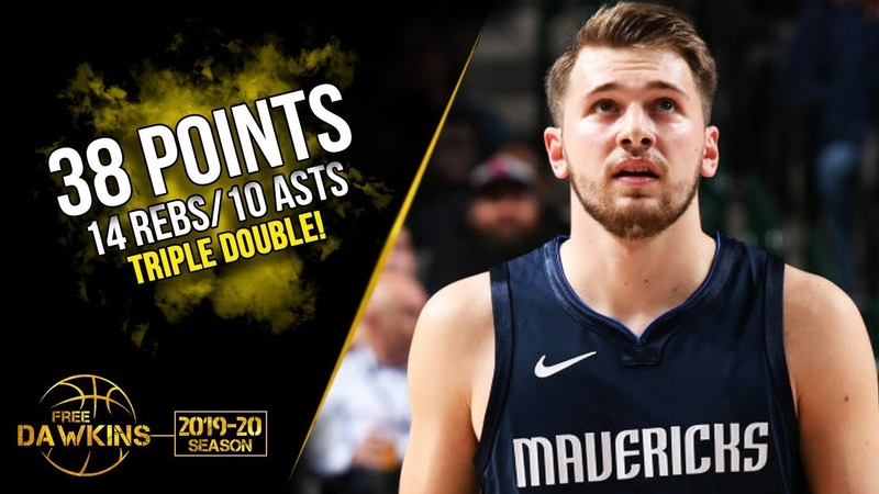 Luka Doncic Triple-Double 2019.11.08 Mavs vs Knicks - 38 Pts, 14 Rebs, 10 Asts!