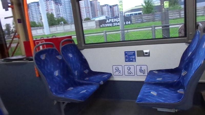 Троллейбус с УАХ Санкт-Петербурга 9-470: БКМ-32100D б.2104 по №18 (04.08.19)