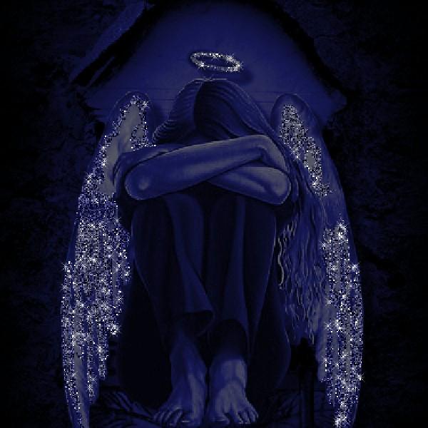 напомним картинка плачущего ангела просто