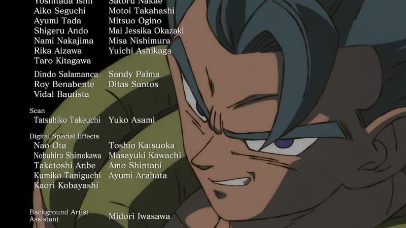 Dragon Ball Super Broly 19 Movie Ending『Daishi Miura Bizzard』 Драгон Болл Супер Броли Эндинг Драконий жемчуг