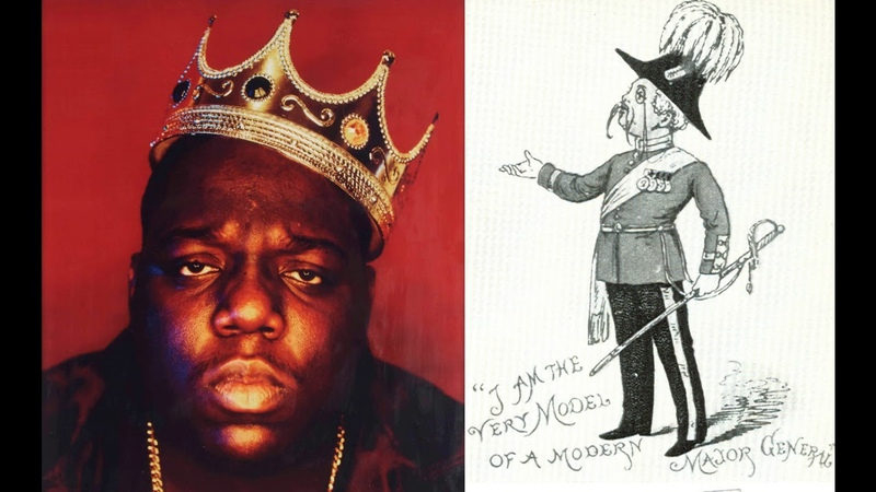The Notorious B I G raps I Am the Very Model of a Modern Major General Speech Synthesis