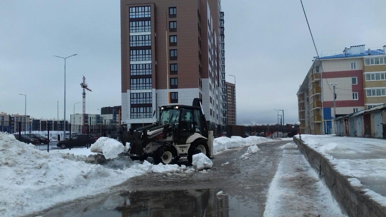 Улица Московская дом 201 механизированная уборка придомовой
