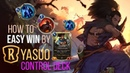 How to EASY WIN by Yasuo Control Deck Legends of Runeterra