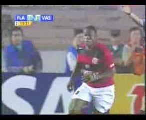 Flamengo 2 x 0 Vasco - 1° jogo final da copa do Brasil 2006