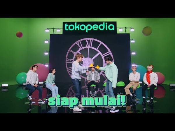 Tokopedia x Tomorrow X Together Main Games di TokopediaWIB TV Show 25 Maret 2021 Part 1