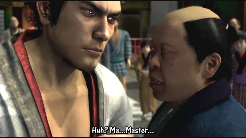 KHH Ryu ga Gotoku Kenzan Walkthrough with English Translation Prologue