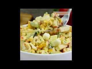 Три самых быстрых и вкусных салата с кукурузой