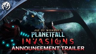 Age of Wonders: Planetfall INVASIONS - Announcement Trailer