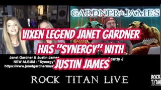 Janet Gardner & Justin James Interview - VIXEN Legend discusses NEW Synergy
